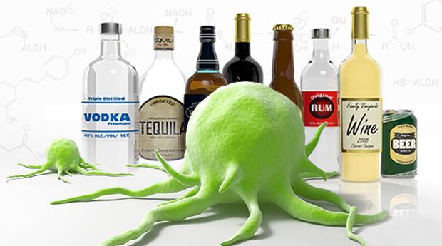 Cồn trong rượu, bia có thể gây ung thư gì