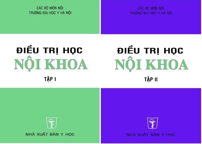 Điều trị học nội khoa trọn bộ 2 tập – Đại học Y Hà Nội