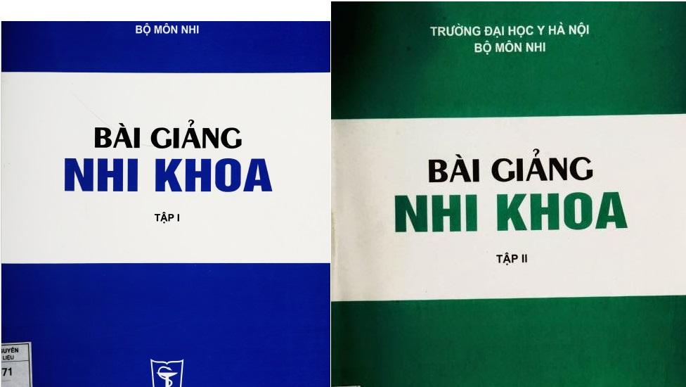 [PDF] Bài giảng nhi khoa trọn bộ 2 tập – Đại học Y Hà Nội
