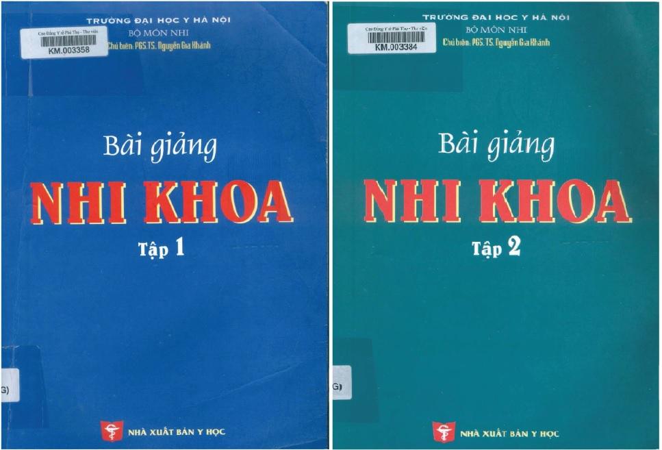[PDF] Bài giảng nhi khoa 2009 – Đại học Y Hà Nội