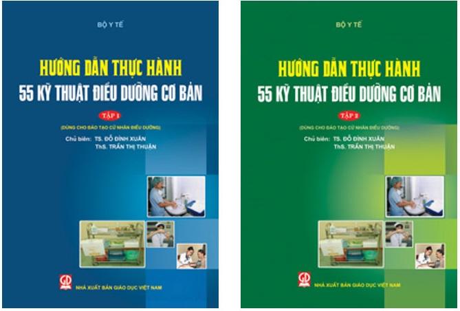 [PDF] Hướng dẫn thực hành 55 kỹ thuật điều dưỡng cơ bản – trọn bộ 2 tập