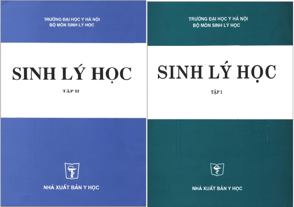 [PDF] Sinh lý học trọn bộ 2 tập – Đại học Y Hà Nội