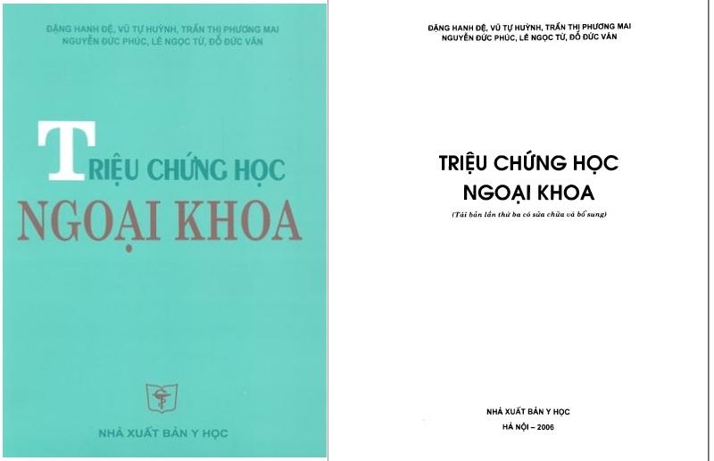 [PDF] Triệu chứng học ngoại khoa (bìa xanh rêu) – Đại học Y Hà Nội